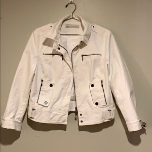 Zara Jacket Utility white.